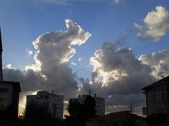 neboderi i oblaci...