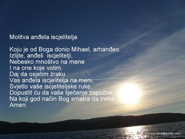 poruka anđela